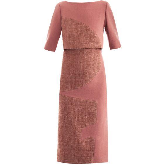 Roksanda Ilincic Ronstadt wool-crepe dress (€455) - queen rania: