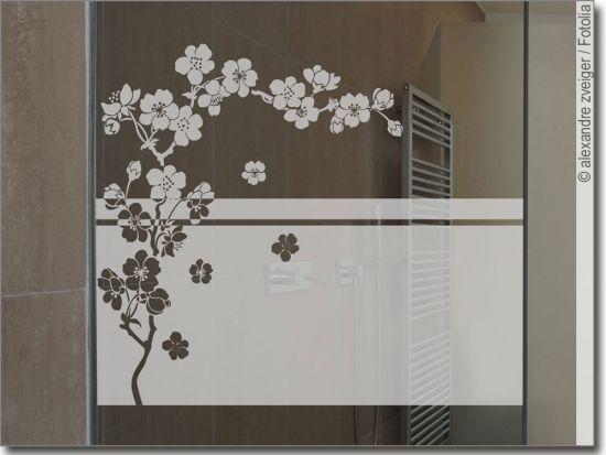 Sichtschutz Kirschblute Fensterfolie Sichtschutz Sichtschutzfolie Sichtschutz