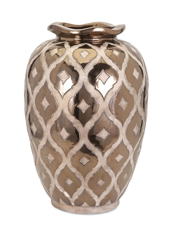 Lederman Embossed Vase