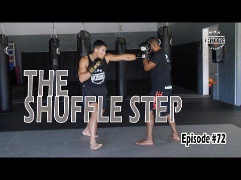 Shuffle Step Muay Thai Training Martial Arts Training Boxing Training