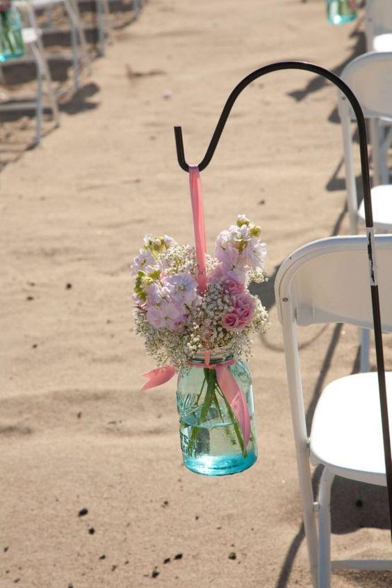 50 Beach Wedding Aisle Decoration