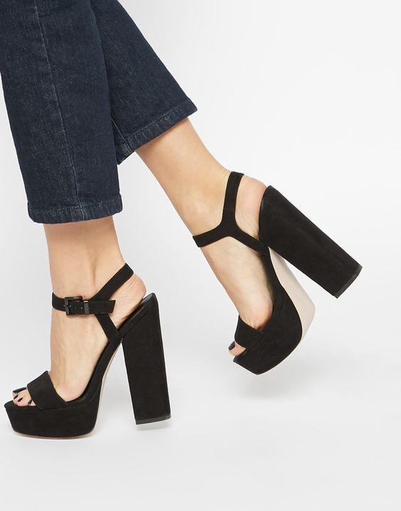 ASOS HIT THE JACKPOT Heeled Sandals