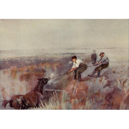 Norfolk Broads 1906 All in a days work Canvas Art - Frank Southgate (18 x 24)