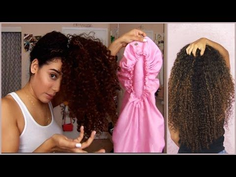 How To Sleep With Long Curly Hair How To Preserve Curls Youtube Curls For Long Hair Curly Hair Styles Curly Hair Overnight