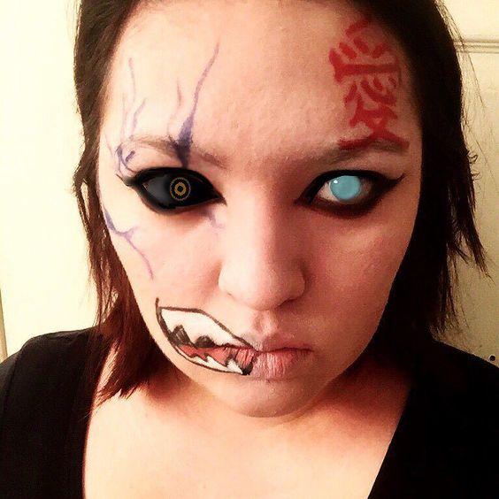 Gaara makeup! (Eye effects were added for dramatization)  #naruto #weeaboo #anime #narutoshippuden #narutomakeup #gaara #gaaraofthesand #gaaraofthedesert #gaaracosplay #gaaramakeup #cosplay #cosplaymakeup #animemakeup #nerd #makeupartist #makeupeffects #makeupartistry #makeupartistforhire #specialeffects #specialeffectsmakeup #specialeffectsmakeupartist #fandom #fangirl #ninja #ninjainfocards #artistry #gracefulmakeupfx