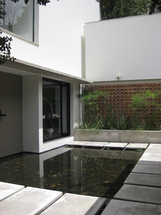 Modern Contemporary Gardens Design, Pictures, Remodel, Decor and Ideas -