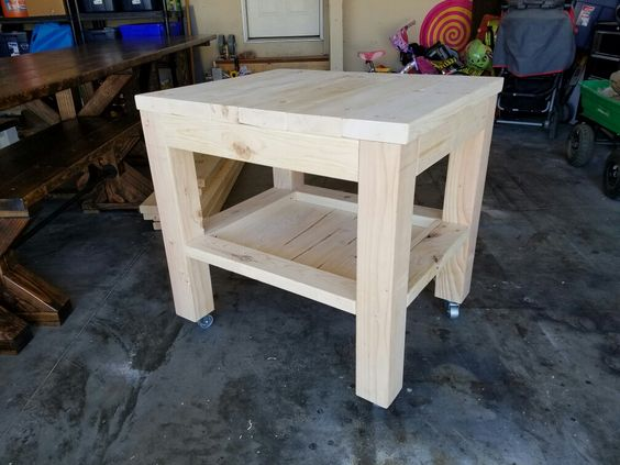Marvelous Sculpting Table With Lower Shelf | My Pins | Pinterest | Low Shelves And  Shelves