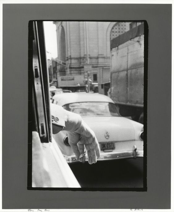 Robert Frank, From the Bus, New York, 1958, Pace/MacGill Gallery