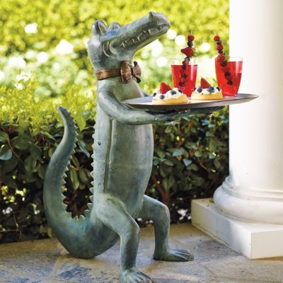 Belvedere Alligator Table Great For Deck Or Patio
