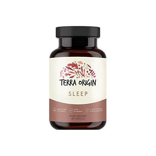 Healthy Sleep Nutraceutical Supplement With Melatonin Gaba L Tryptophan Valerian Passionflower Chamomile And Hops For A Healthy Sleep Wake Cycle 60 Capsul