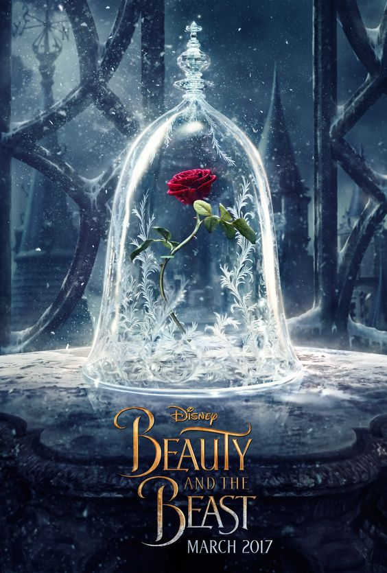 The first official Beauty and the Beast movie poster!:
