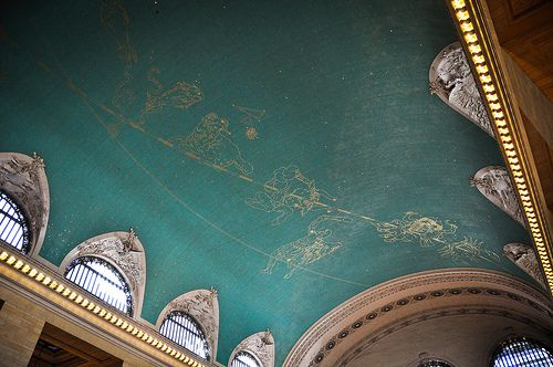 Ceilings ceiling murals and new york on pinterest for Constellation ceiling mural