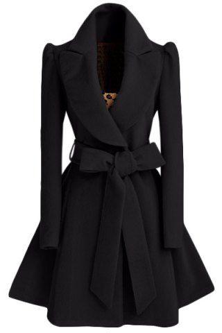 Women Woolen Winter Trench Double Button Coat | Sleeve, Women's ...