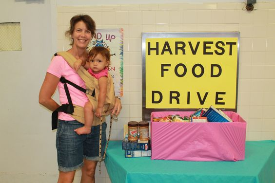 Harvest Food Drive #plantation #park #elementary #fall #festival #broward