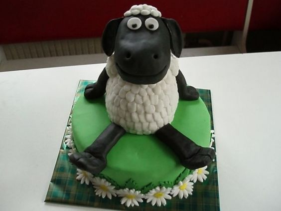 Pin By Lynell Chun On Kids Birthday Party Ideas Pinterest The - Sheep cakes birthday