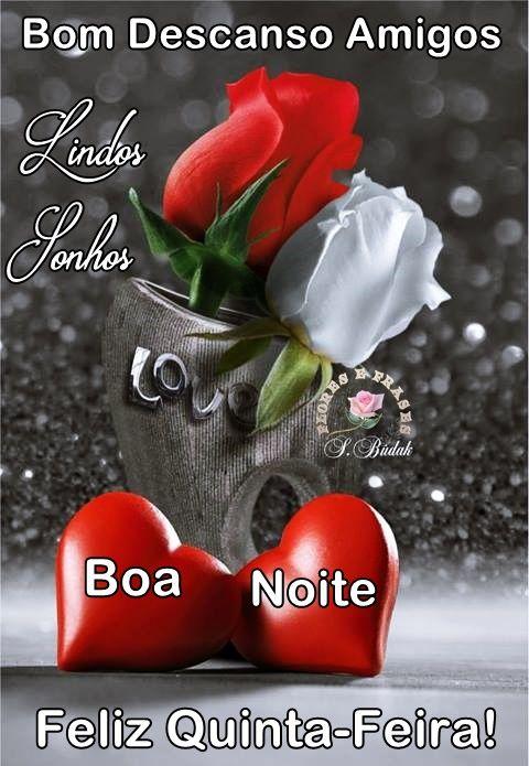 Bom Descanso Amigos Lindos Sonhos Boa Noite Rosas Rosas