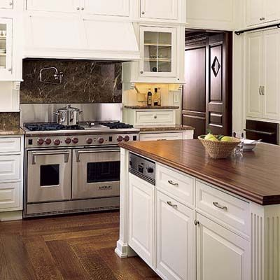 A small kitchen with 7 smart storage solutions double for Small kitchen wall storage solutions