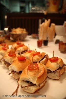 Receita de Sanduíche de carne louca - tudo gostoso
