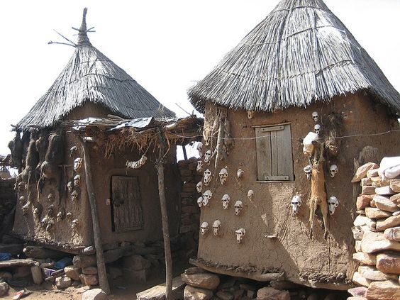 Image result for dogon hogan house