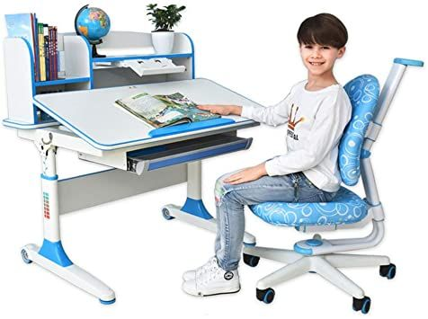Desk Chair Set Multi Functional Desk And Chair Set Childen Kids Study Table School Student Desk Book Stand Child In 2020 Kids Study Desk And Chair Set Kids Study Table