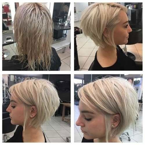 Short Blonde Hairstyle For Fine Thin Hair 2019 Top Short Hairstyles For Fine Thin Hair Thick Hair Styles Thin Hair Haircuts Thin Fine Hair