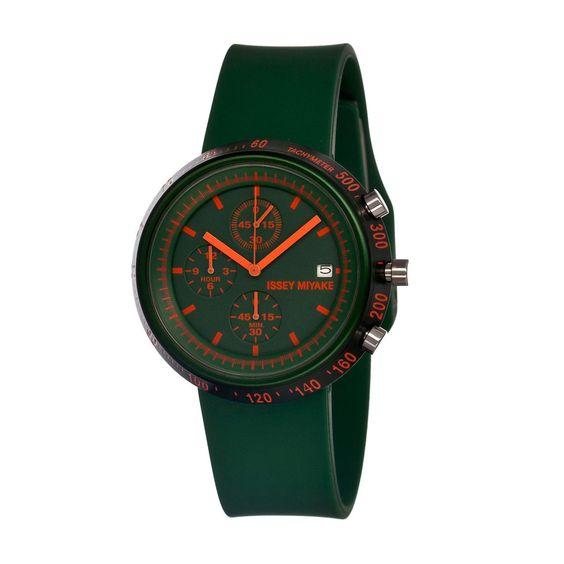 (16) Fab.com | Men's Trapezoid Watch Green
