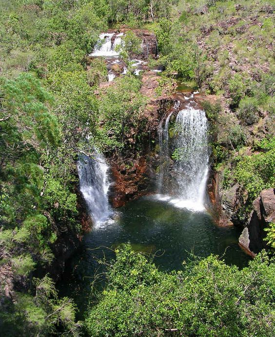 19 Stunning Places To Go Swimming In Australia / Florence Falls, Litchfield National Park, NT