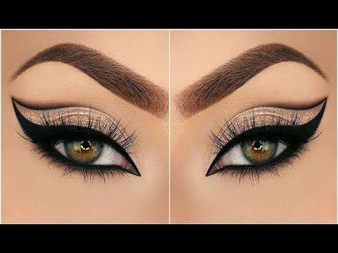 مكياج عيون 2018 جد رائع أروع مكياج للعيون والشفايف لازم تعرفيه Youtube Eyeshadow Lipstick Youtube