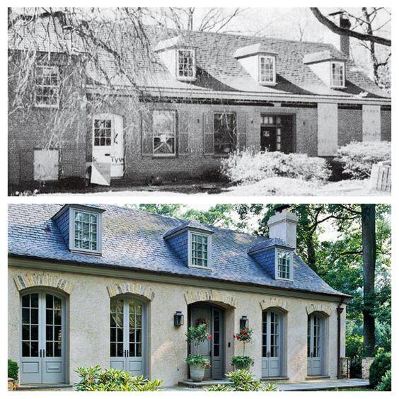 Brick Home Exterior Design Ideas: Before/after Brick Exterior Http://www.bhg.com/home