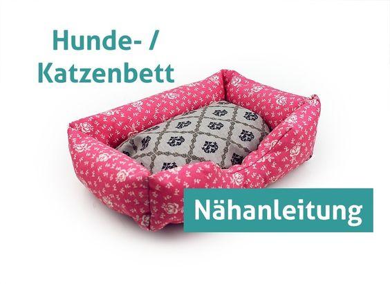 Nähanleitung Hundebett Hund Katze Bett Sofa ebook von tikata - Nähanleitungen Taschen selber nähen Nähanleitung auf DaWanda.com