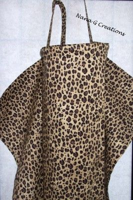 This is different. Leopard print nursing cover