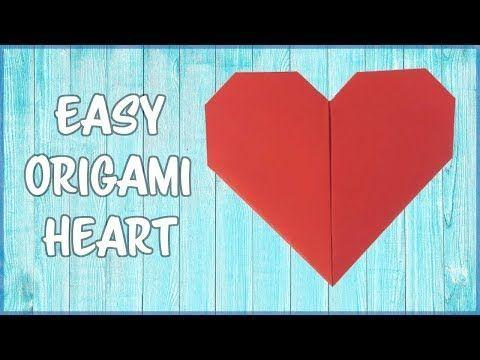 Make an Origami Pocket Heart | Origami, Origami heart, Origami ... | 360x480