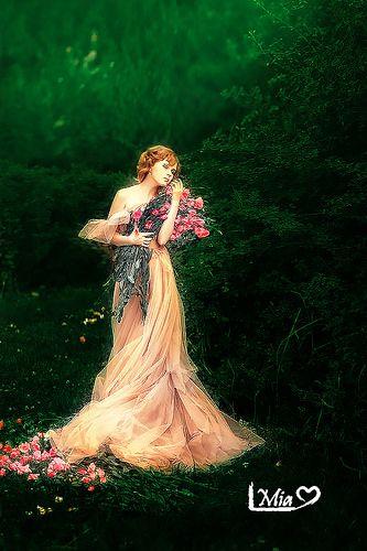 flor rosa | por Nmachi