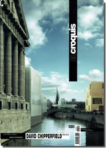 David Chipperfield / デイヴィッド・チッパーフィールド 1998-2004 El Croquis 120 - 建築 古本 買取 販売 - 古書 山翡翠 - 建築専門(建築書・建築雑誌)@東京都新宿区