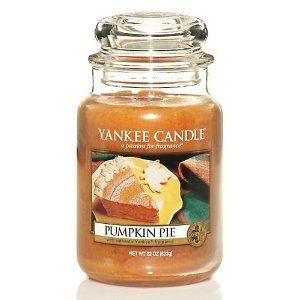 Yankee Candle Pumpkin Pie Large Jar Candle