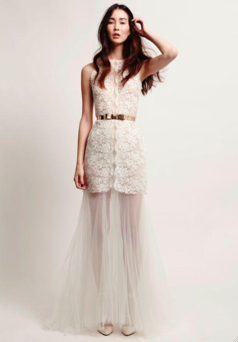 Kaviar Gauche Bridal Couture. Foto: Cathleen Wolf
