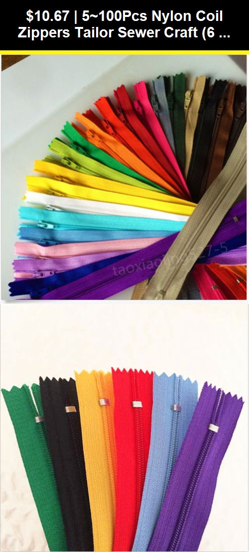 20 colors Nylon 3# Invisible Zippers Tailor Sewing Craft 10 pcs 12-20 inch