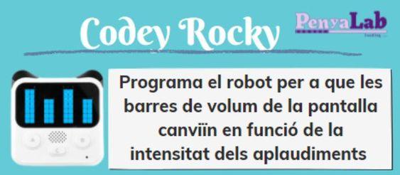 CODEY ROCKY – Intensitat de volum