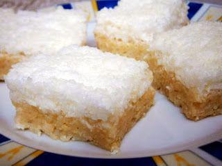 Raffaello-szelet sütés nélkül, glutén-, és laktózmentesen | Életmód+diétás receptek