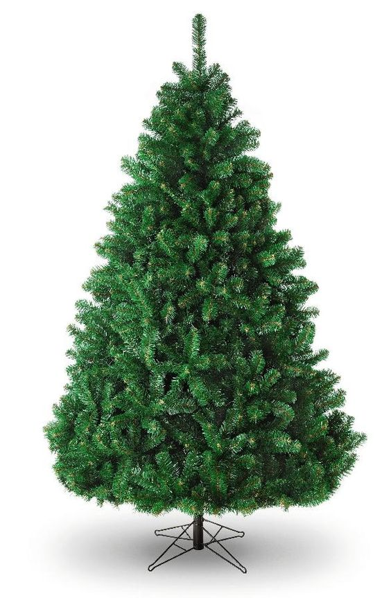 8ft Green Christmas Tree - Full Glacier Grand Fir - Artificial Christmas Tree