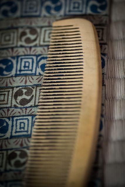 i prefer traditional wooden comb  works much better than any conventional brushes or combs for