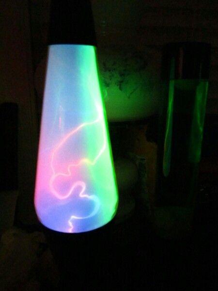 Lightning lava lamp