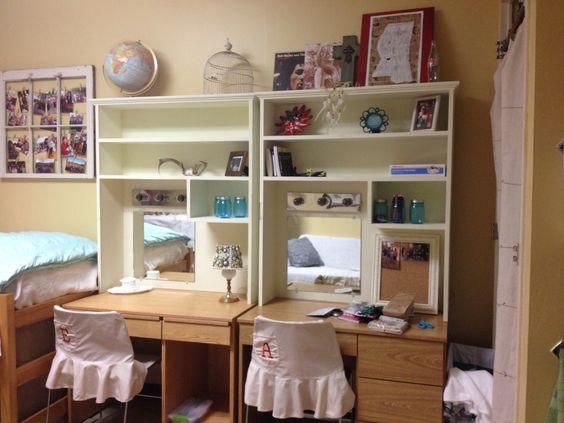 Desk Shelves Dorm Ideas For Rachel Pinterest