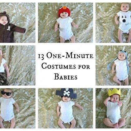 25 Things Not To Do With Your Baby Funny, Quick costume ideas and - quick halloween costumes ideas