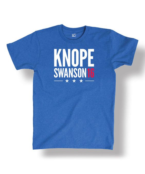 Look at this Royal Blue 'Knope Swanson 16' Tee - Men's Regular on #zulily today!