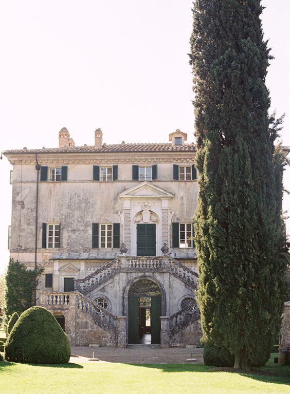 Villa Centinale, Sovicille, Siena, Tuscany: