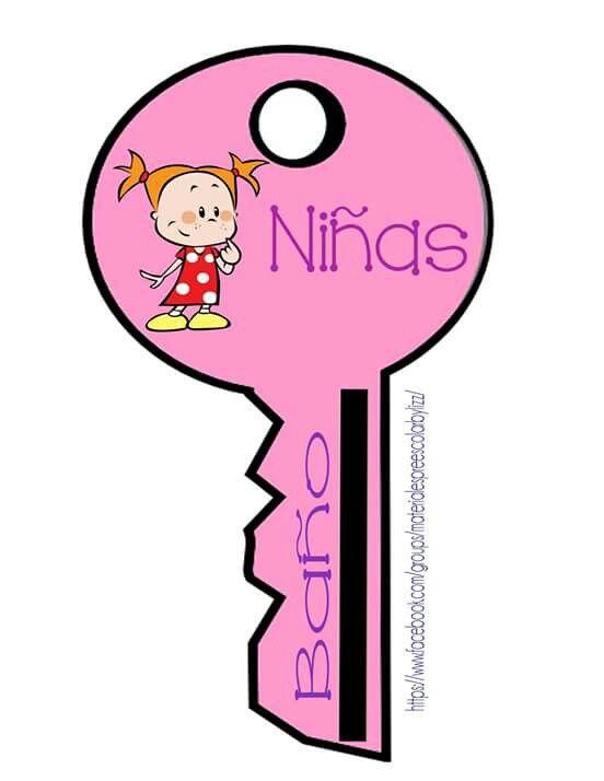 La llave para ir al ba o organizando el aula preescolar for Embolo para llave de bano