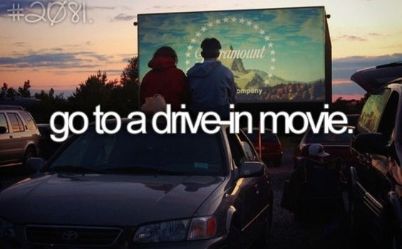 tumblr bucket list drive-in movie