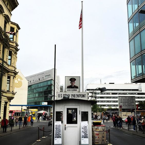 Checkpoint Charlie by paulrusss