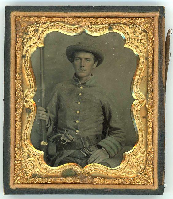 Pvt. K.A. McIntosh, Co. K, 6th Tenn. Infantry, C.S.A.  WIA Shiloh 1862